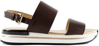 Hogan H257 Double Strap Sandals