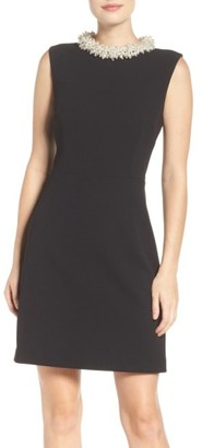 Betsey Johnson Pearl Collar Dress $158 thestylecure.com