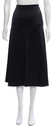 Sonia Rykiel Midi A-Line Skirt Black Midi A-Line Skirt