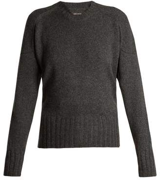 Isabel Marant Denver Wool Blend Sweater - Womens - Grey