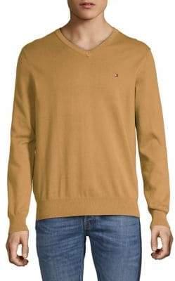 Tommy Hilfiger Signature Solid V-Neck Sweater