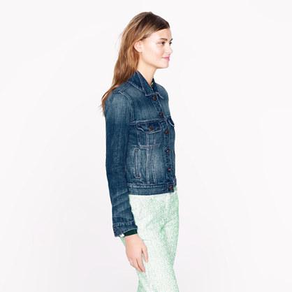 Nolita denim jacket in indigo