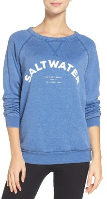 Women's The Laundry Room Saltwater Sweatshirt $88 thestylecure.com