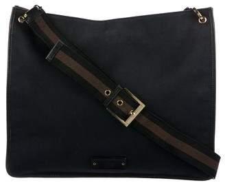 Gucci Canvas Flat Messenger Bag