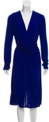 Lanvin 2017 Draped Midi Dress