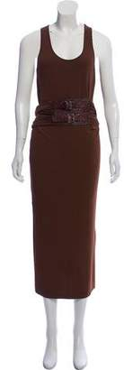 Michael Kors Belted Midi Dress w/ Tags