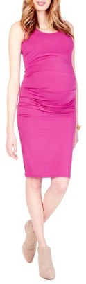 Women's Ingrid & Isabel Ruched Maternity Tank Dress $88 thestylecure.com
