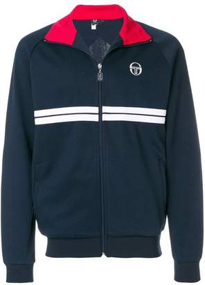 Sergio Tacchini striped detail sports jacket