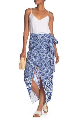 Rachel Roy Tile Wrap Skirt