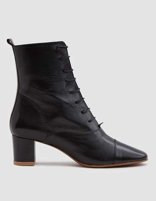 By Far Shoes Lada Lace-Up Ankle Boot
