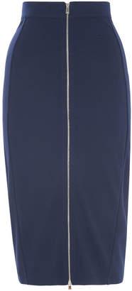 Whistles Jersey Zip Tube Skirt