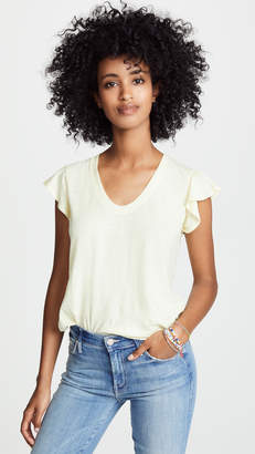 Rebecca Taylor Textured Jersey Tee