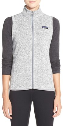 Women's Patagonia Better Sweater Vest $99 thestylecure.com