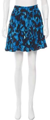 Reiss Printed Mini Skirt
