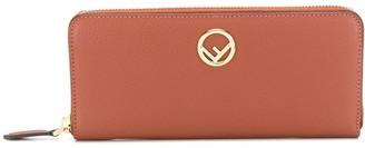 Fendi zip-around wallet