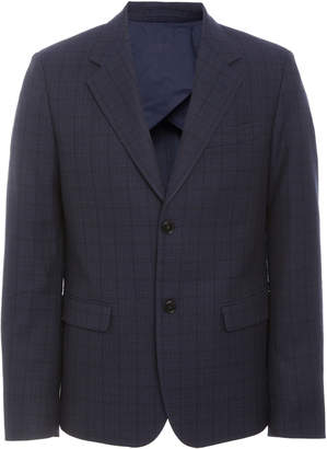 Marni Checked Navy Blazer