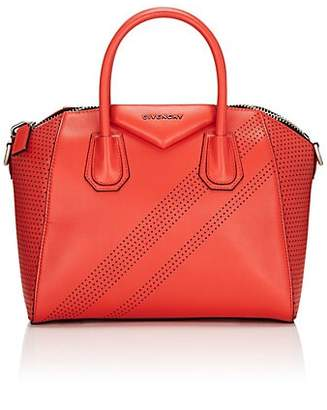 Givenchy Women's Antigona Small Leather Duffel Bag - Red