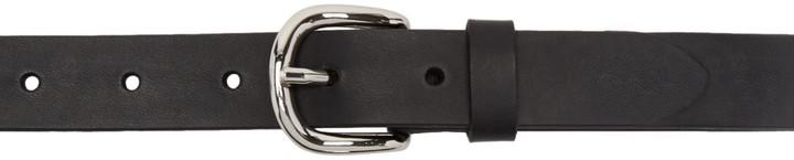Isabel MarantIsabel Marant Black Leather Zap Belt