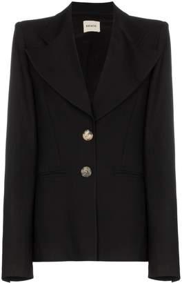 KHAITE Alexis oversized lapels blazer jacket