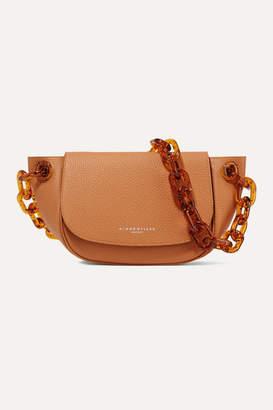 Simon Miller Bend Textured-leather Shoulder Bag - Light brown