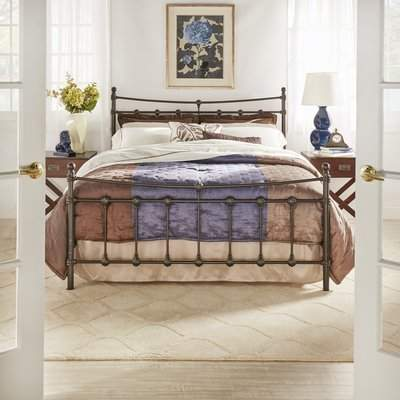 Three Posts Moreira Panel Bed