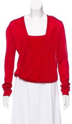 DKNY Knit Long Sleeve Top