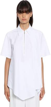 Sportmax Bonn Cotton Poplin Short Sleeve Shirt
