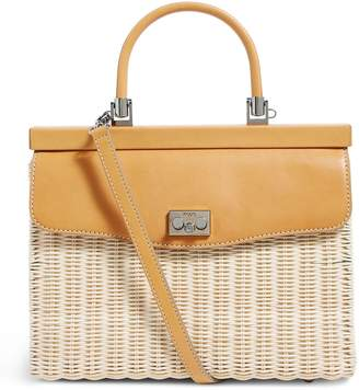 Rodo Wicker Top Handle Bag
