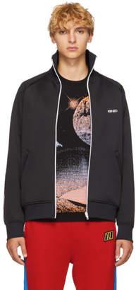Kenzo Black Logo Track Jacket
