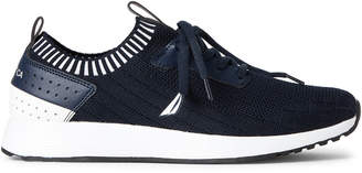 Nautica Navy Rembold Knit Running Sneakers