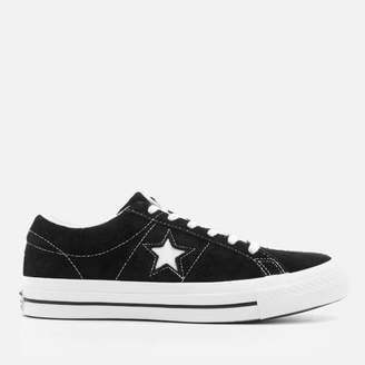 One Star Ox Trainers Black/White