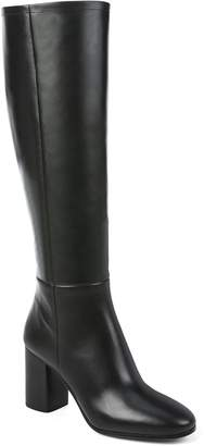 Diane von Furstenberg Reese Leather Block Heel Boot