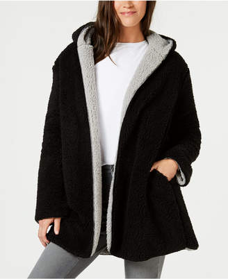 Style&Co. Style & Co Reversible Faux-Sherpa Jacket