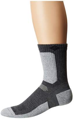Columbia Hiking Ultra Lightweight Crop Crew Socks 1-Pack Crew Cut Socks Shoes