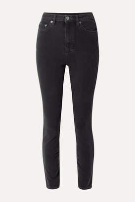 Ksubi + Kendall Jenner Hi N Wasted Skinny Jeans - Black