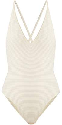 Marysia Swim Reversible Harbour Swimsuit - Womens - Cream White