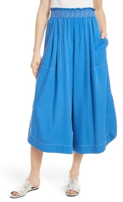 Women's Tracy Reese Soft Smocked Waist Culottes $298 thestylecure.com