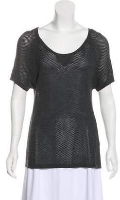Rag & Bone Knit Short Sleeve Top w/ Tags