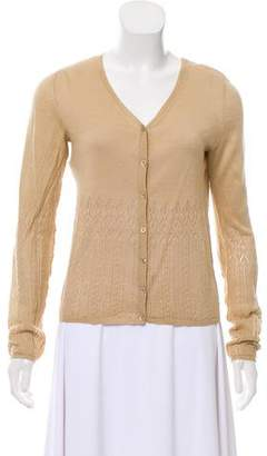 Philosophy di Alberta Ferretti Long Sleeve Knit Cardigan