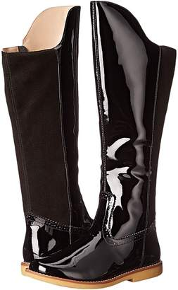 Elephantito Color Block Tall Boot Girls Shoes