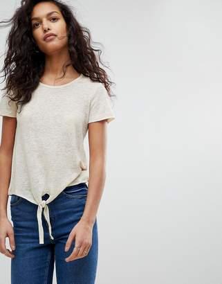 Vero Moda Tie Front T-Shirt