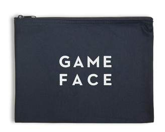 Milly Game Face Zip Pouch