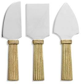 Michael Aram Wheat Cheese Knife Set