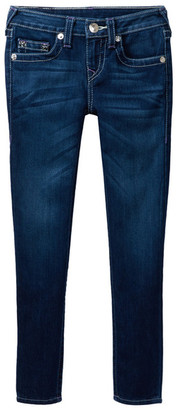 True Religion Natural Single End Skinny Jean (Big Girls) $79 thestylecure.com