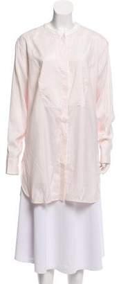 Loro Piana Long Sleeve Button-Up Top w/ Tags