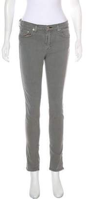 Rag & Bone Mid-Rise Skinny Jeans