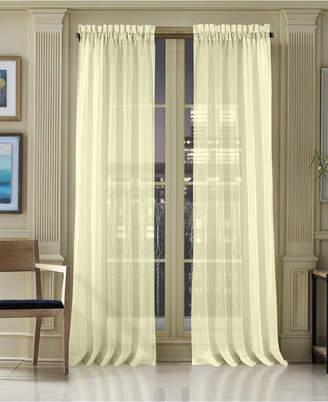 "J Queen New York Waterbury Sheer 50"" x 95"" Rod Pocket Curtain Panel"