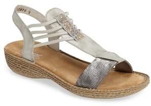 Rieker Antistress Regina T-Strap Sandal