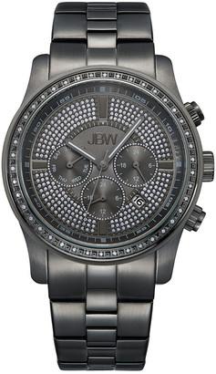 JBW Men's Vanquish Diamond & Crystal Watch