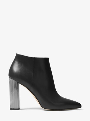 eb194758637 MICHAEL Michael Kors Paloma Leather Bootie